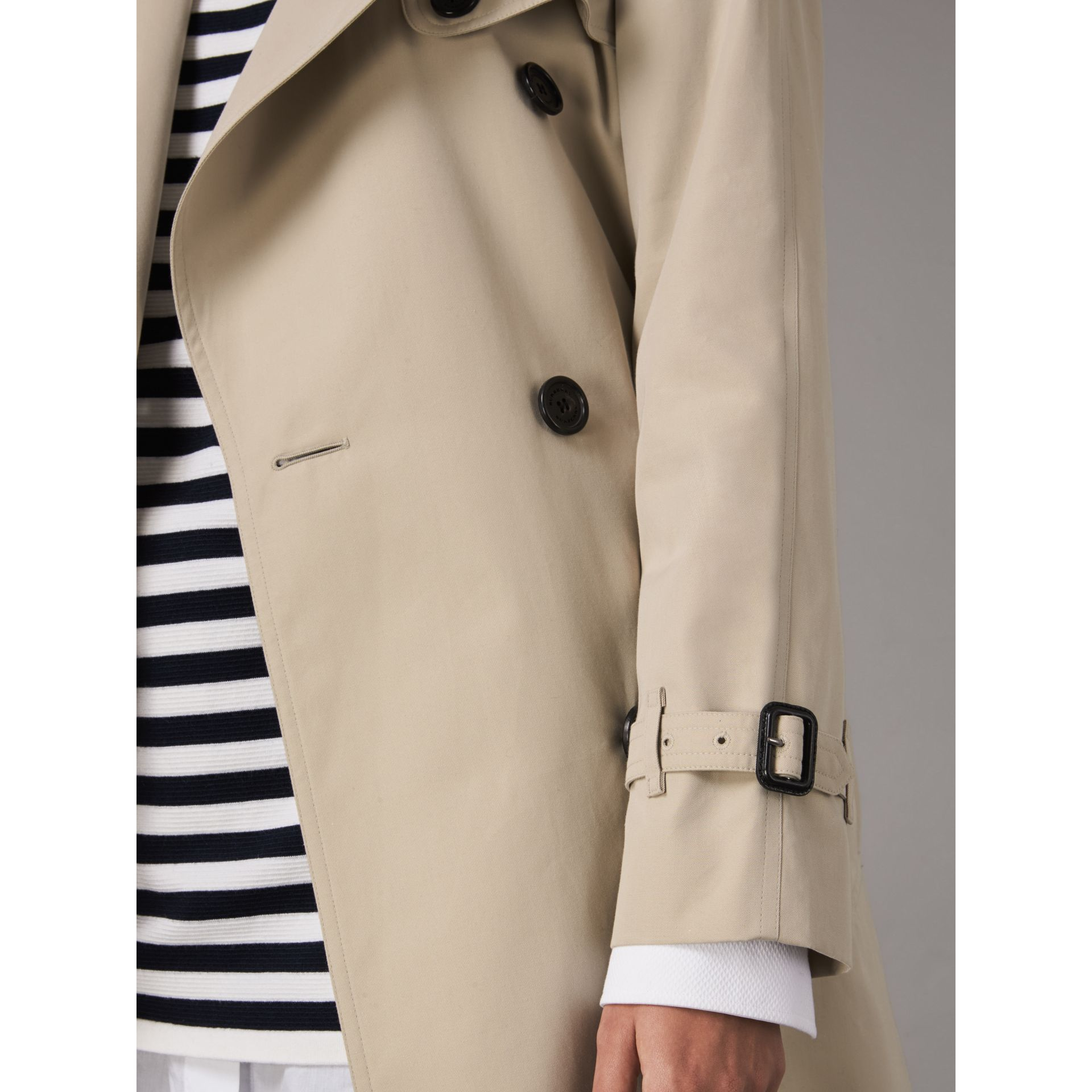 The Westminster – Extra-long Trench Coat in Stone - Women | Burberry Australia - gallery image 6