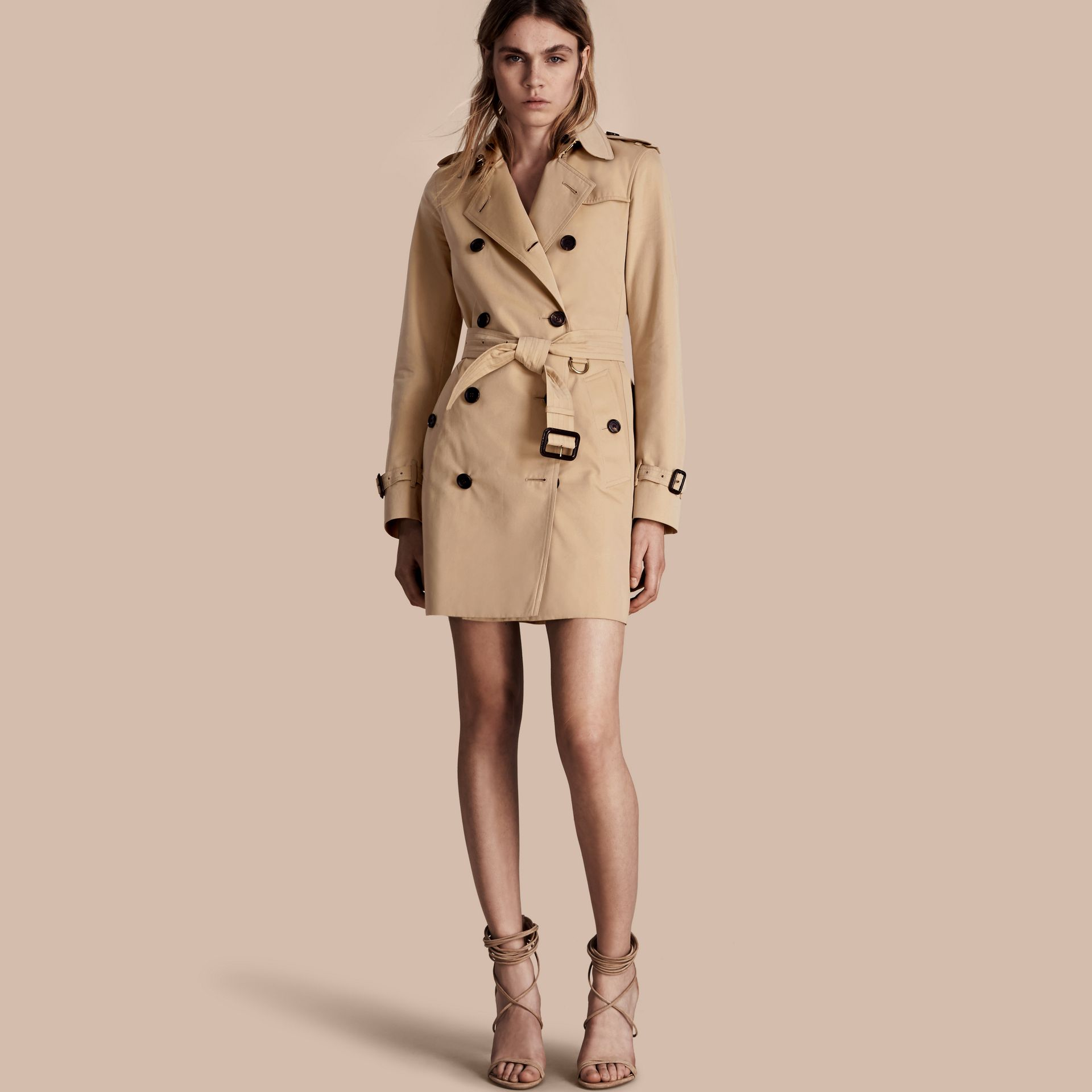 Miel The Kensington – Trench-coat Heritage mi-long Miel - photo de la galerie 1