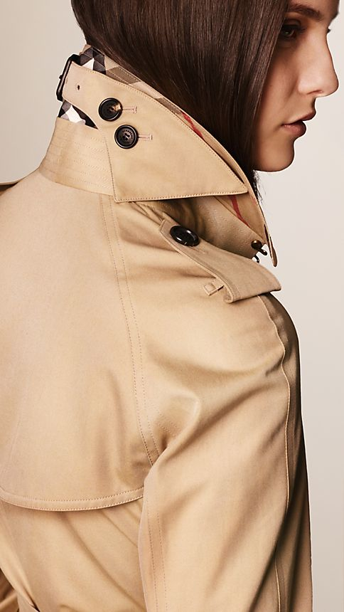 Honey The Westminster - Long Heritage Trench Coat - Image 3