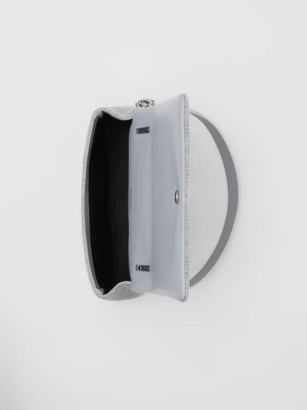 スモール キルティング ジャージー ローラバッグ (グレートープメランジ) | バーバリー - cell image 3