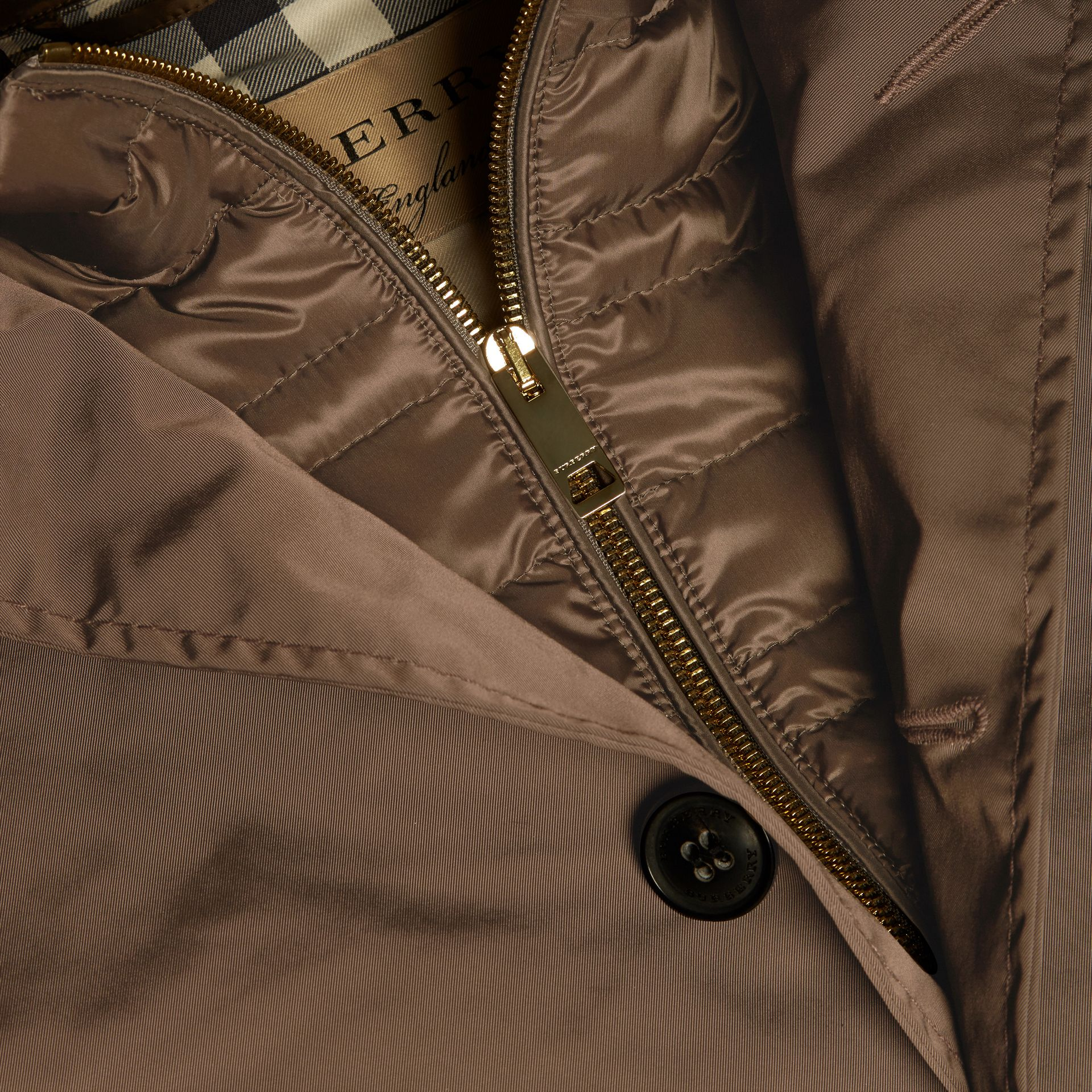 Showerproof Car Coat with Detachable Down-filled Warmer - gallery image 2