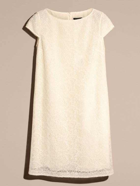 Off white Online Exclusive Italian Lace Shift Dress Off White - cell image 3