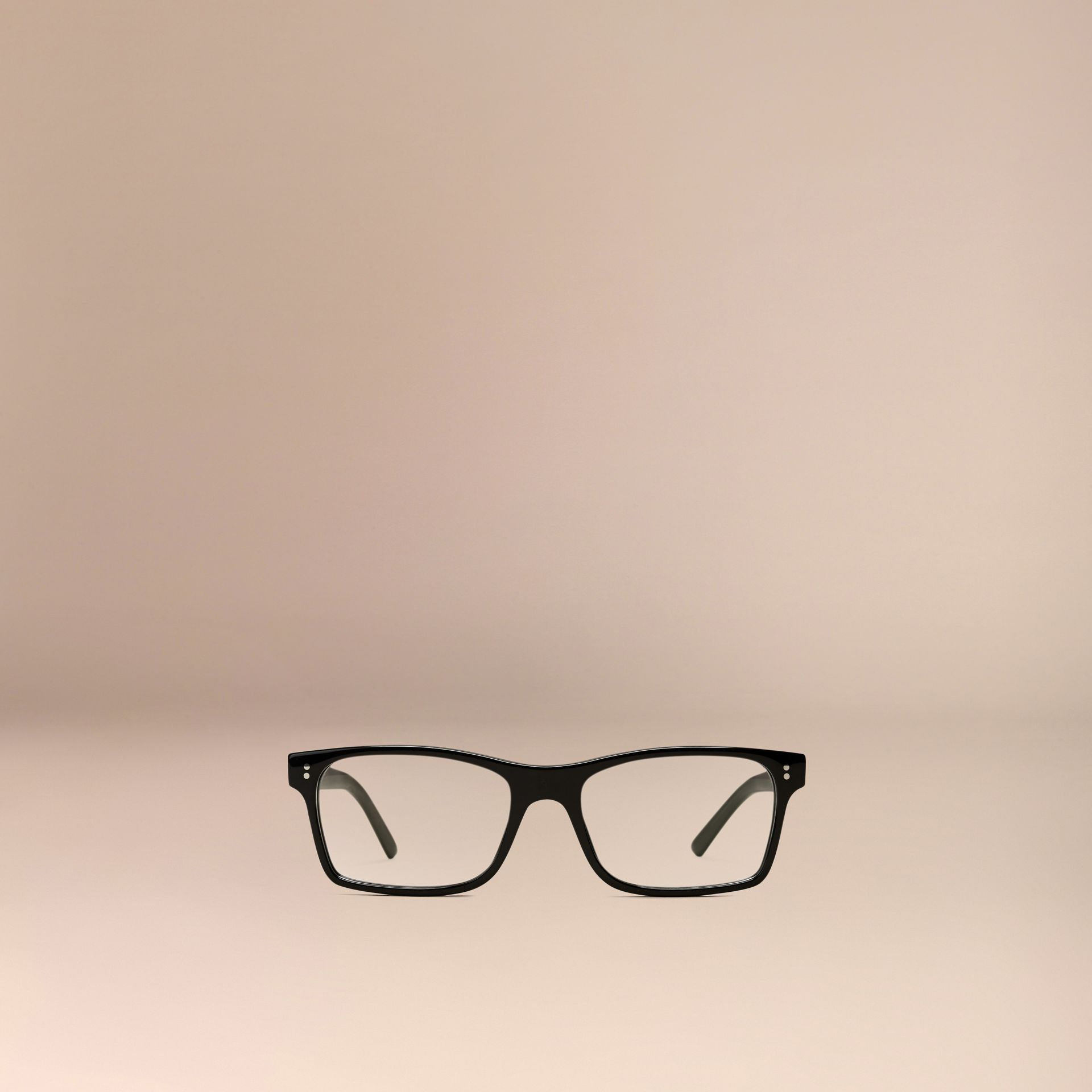 Rectangular Optical Frames Black - gallery image 2
