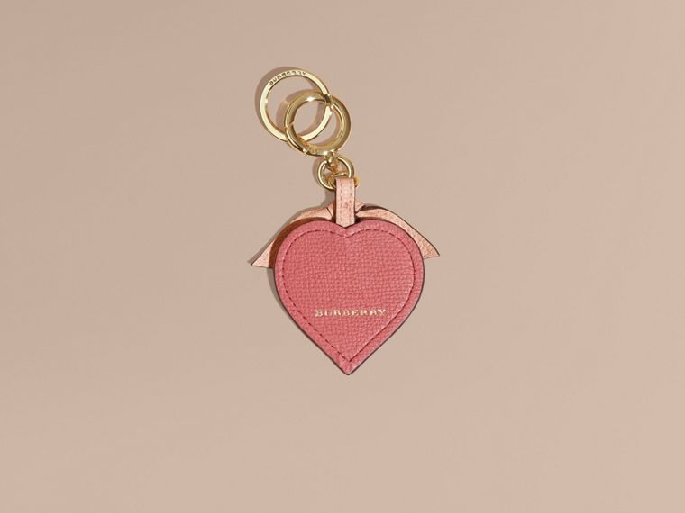Young Love Motif Leather Key Charm - cell image 1