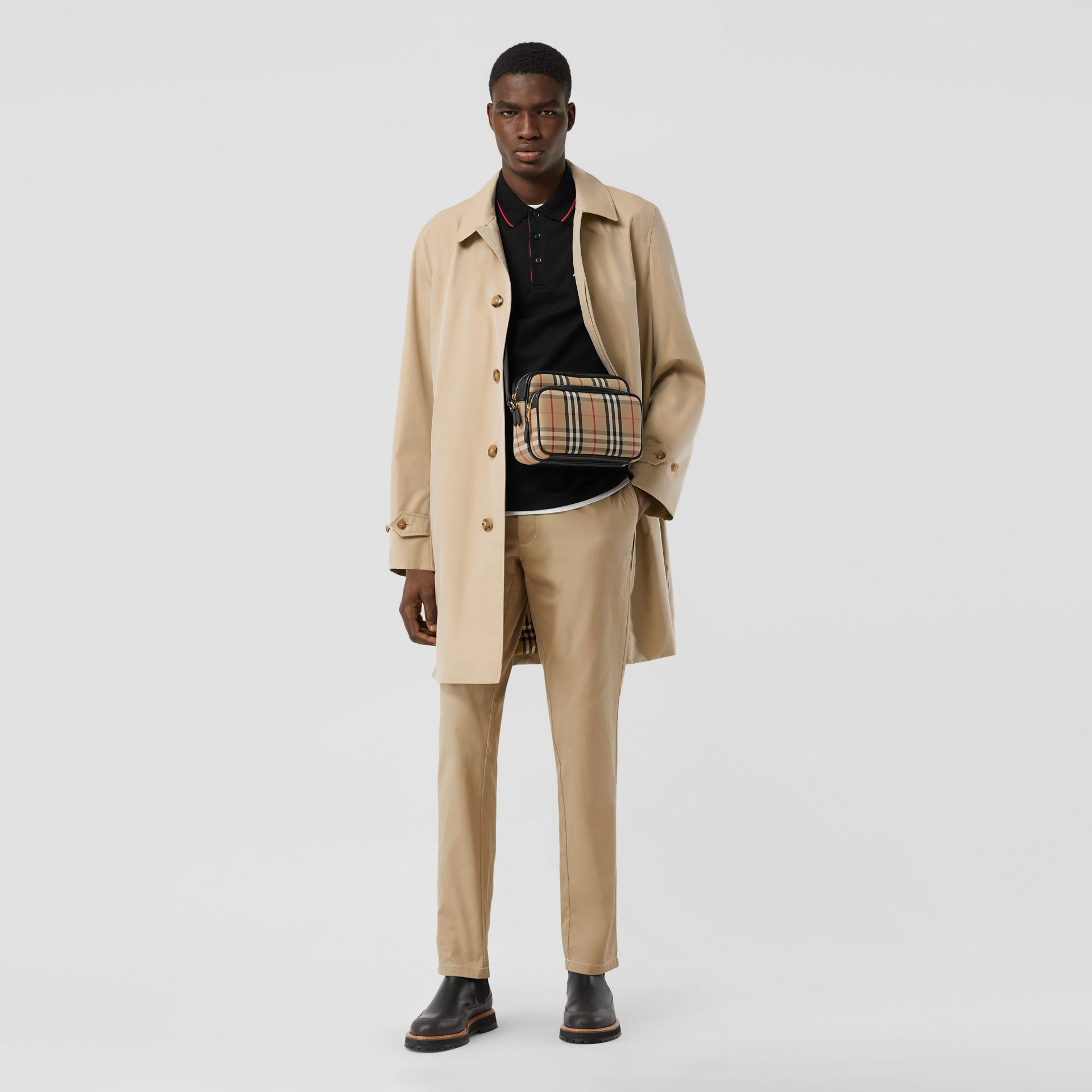 The Pimlico Car Coat in Honey - Men | Burberry Australia - gallery image 6