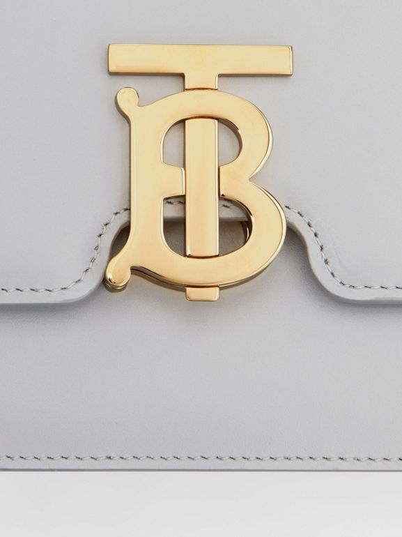 Small Leather TB Bag in Heather Melange | Burberry United Kingdom - cell image 1