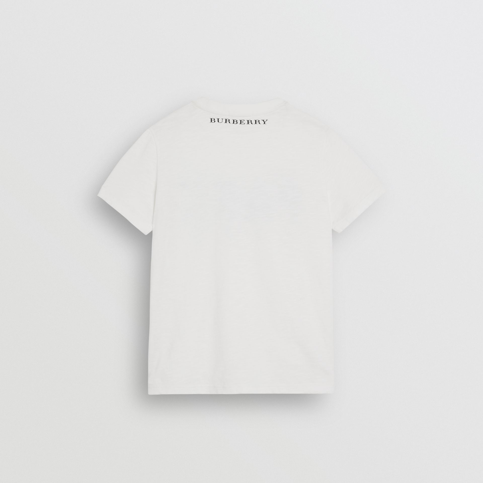 Skate Park Life Cotton T-shirt in White - Children | Burberry - gallery image 3