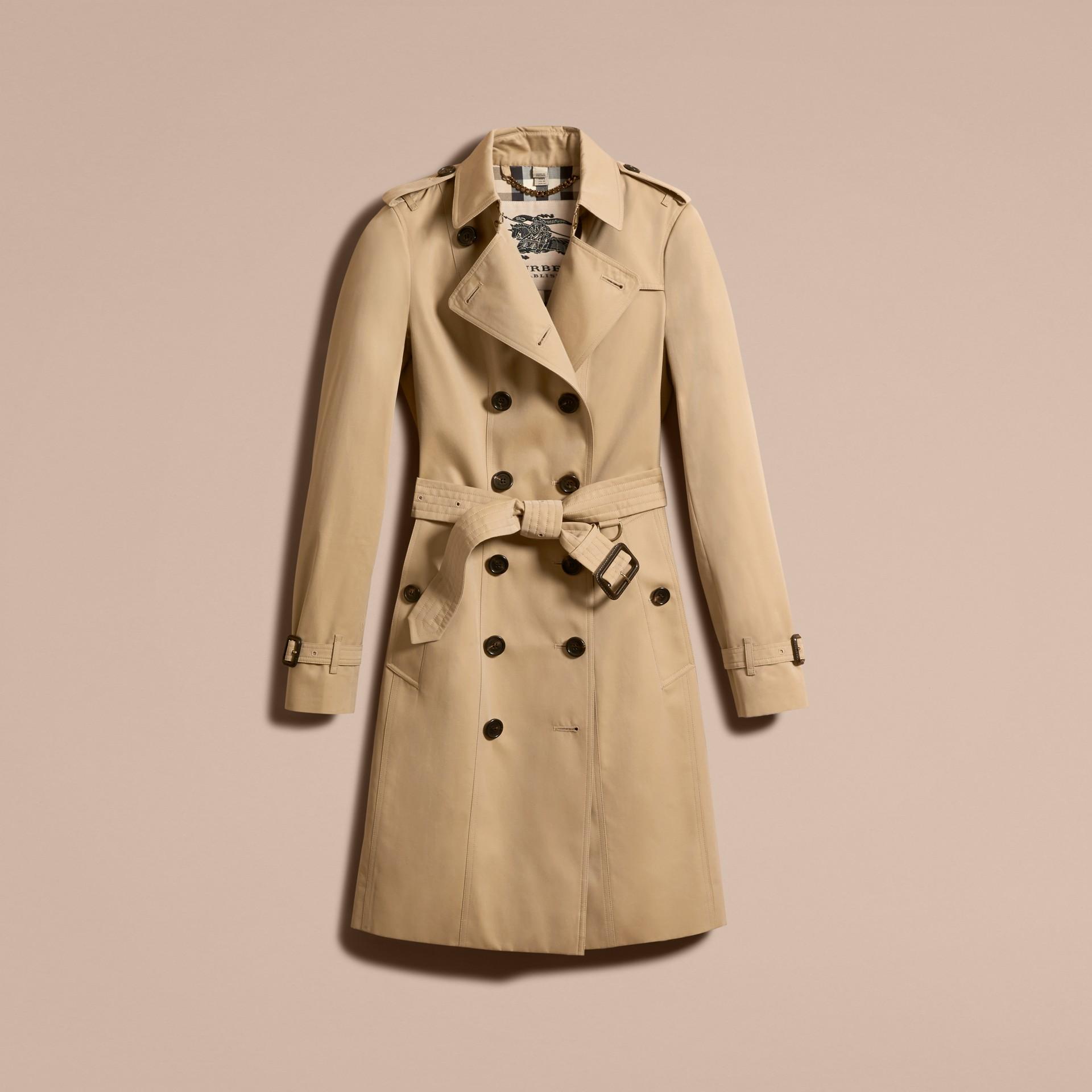 Miel The Sandringham – Trench-coat Heritage long Miel - photo de la galerie 4