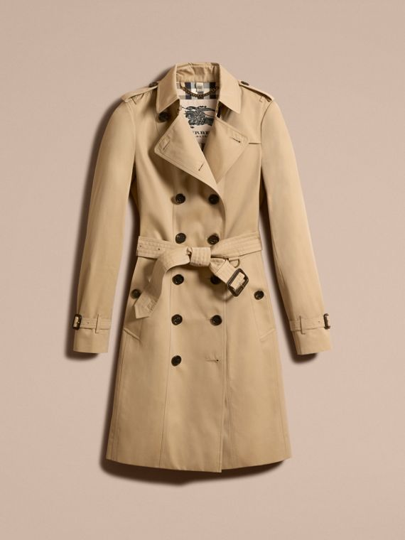 Miele The Sandringham - Trench coat Heritage lungo Miele - cell image 3
