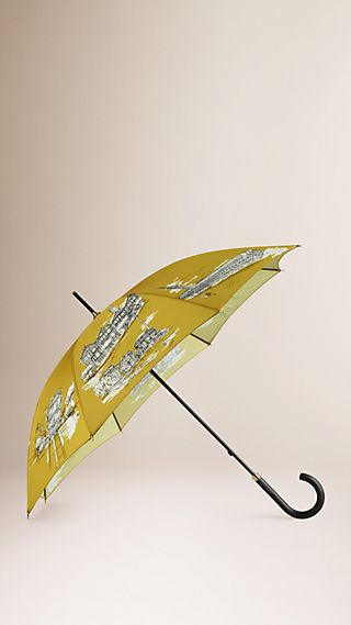 San Francisco Landmarks Walking Umbrella
