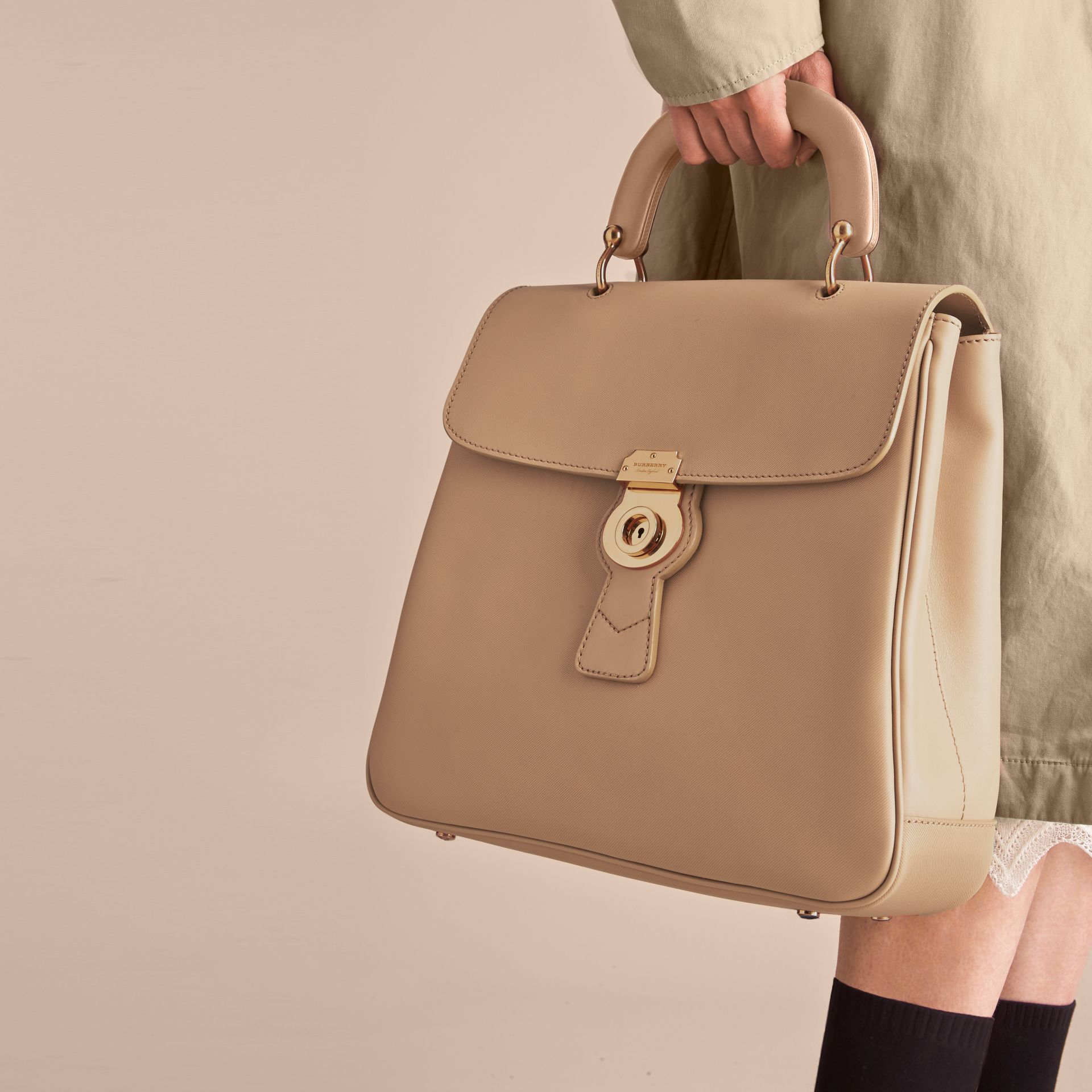 The Large DK88 Top Handle Bag - Women | Burberry - gallery image 3