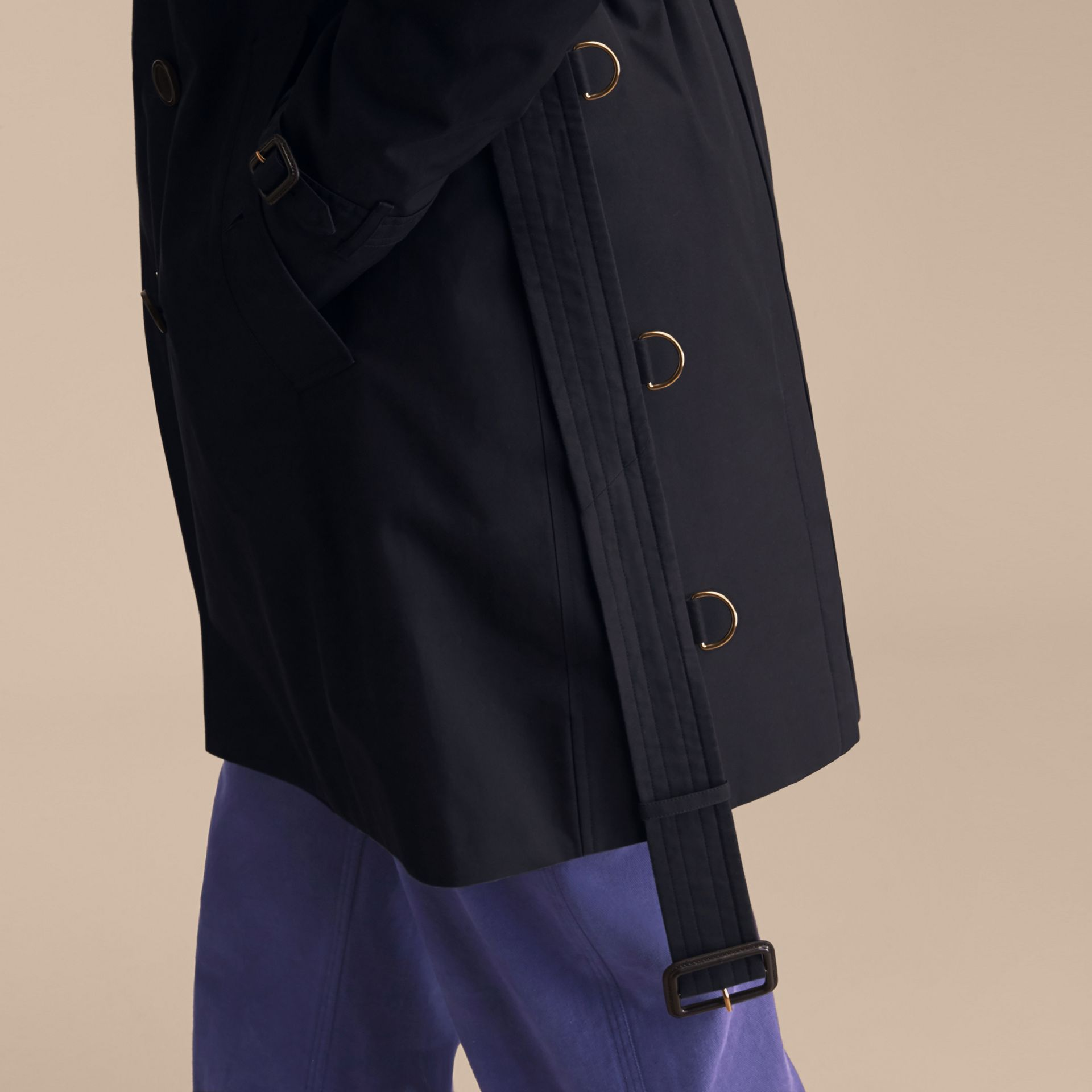 Azul marinho The Sandringham - Trench coat Heritage longo Azul Marinho - galeria de imagens 8