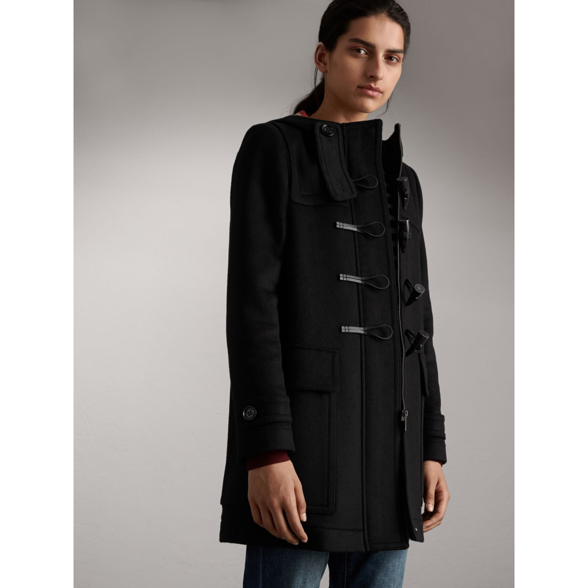 Wool Duffle Coat - Women | Burberry - gallery image 6