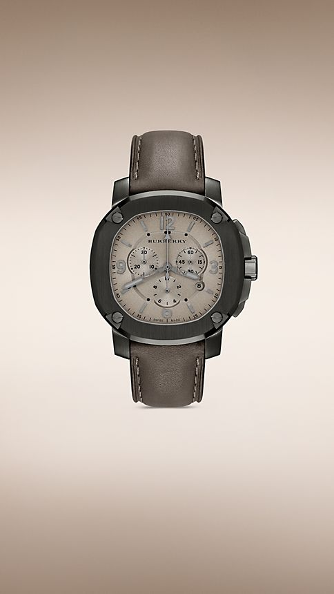 Smoked trench The Britain BBY1105 47mm Chronograph - Image 1