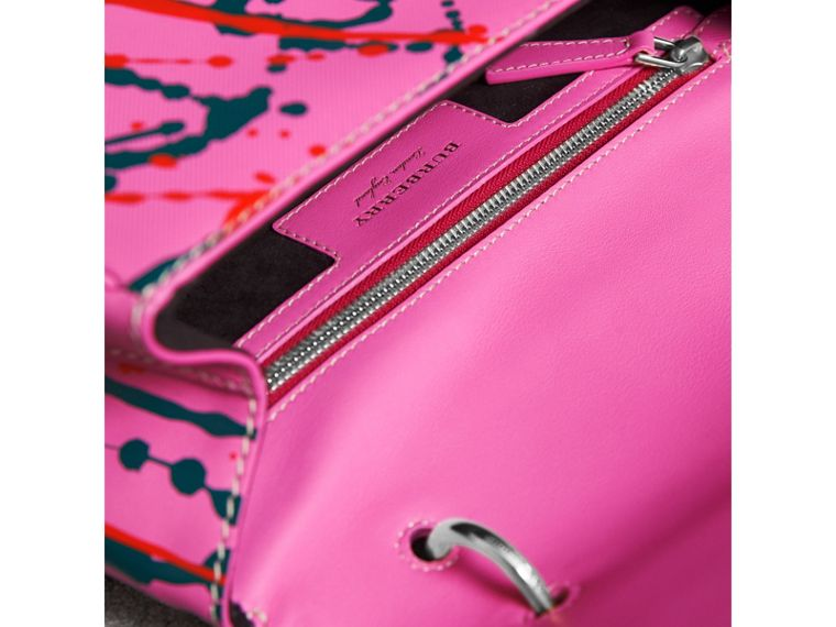 The Medium DK88 Splash Top Handle Bag in Rose Pink - Women | Burberry Australia - cell image 4
