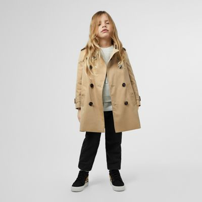 0983d1a34 Girls' Trench Coats | Burberry