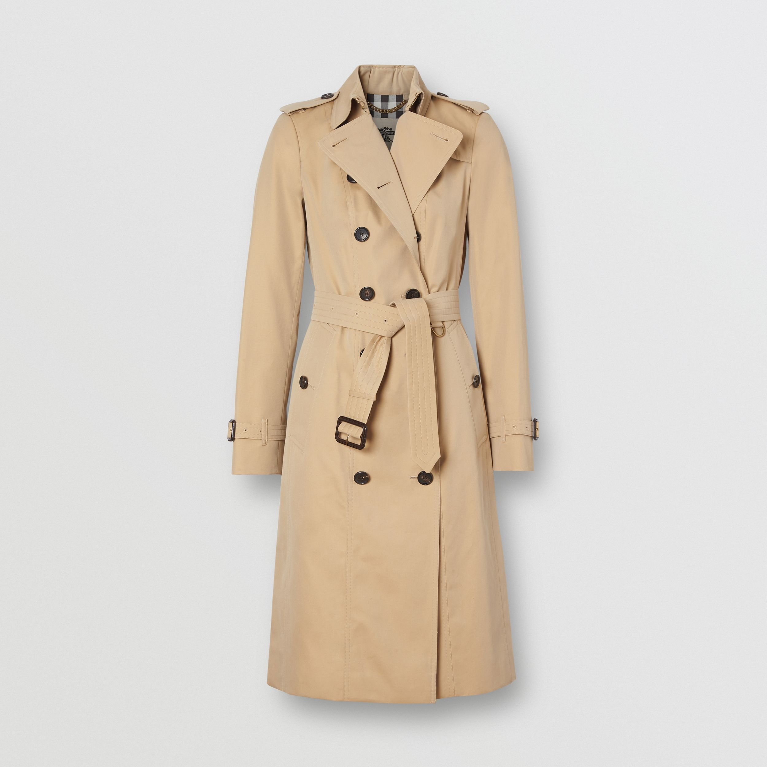 The Sandringham – Extra-long Trench Coat in Honey - Women | Burberry United States - 4