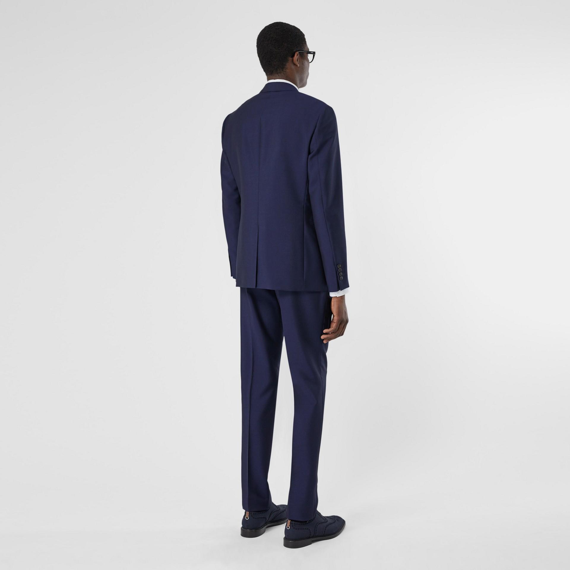 Slim Fit Wool Mohair Suit in Bright Navy - Men | Burberry United Kingdom - gallery image 2