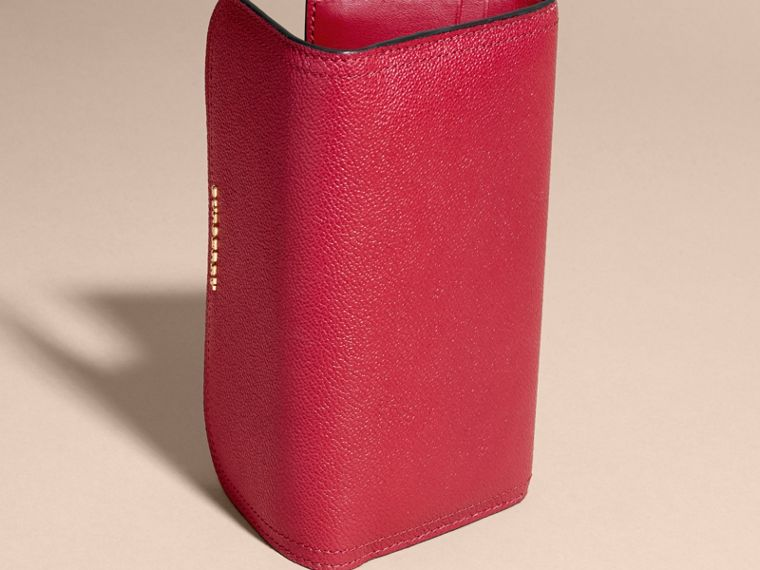 Leather Continental Wallet with Removable Coin Case in Parade Red - Women | Burberry Singapore - cell image 4