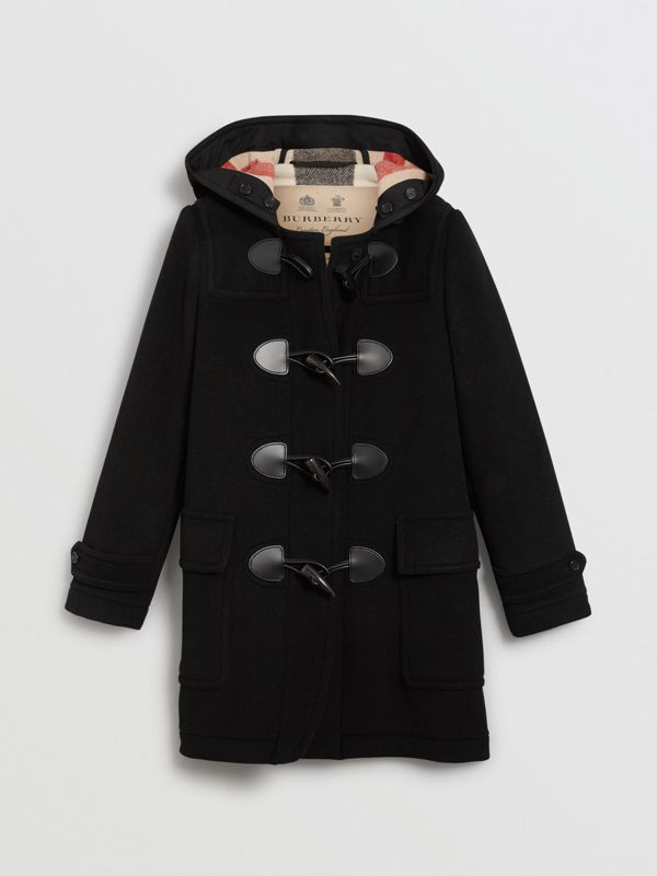 The Mersey Duffle Coat in Black - Women | Burberry - cell image 3