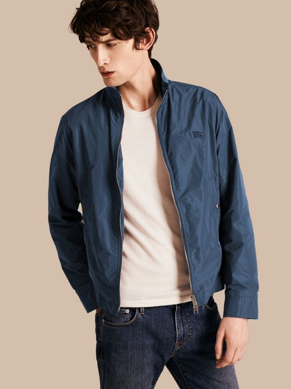 Lightweight Technical Jacket Steel Blue