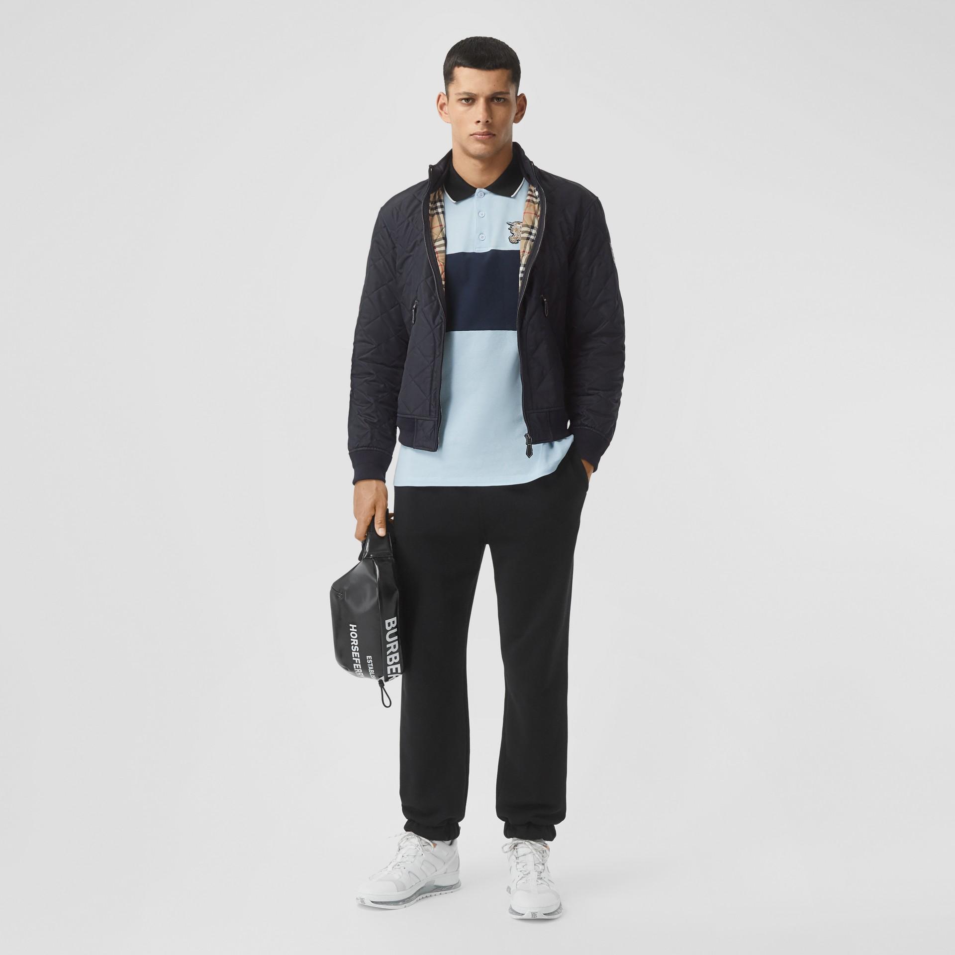 다이아몬드 퀼팅 체온조절 재킷 (네이비) - 남성 | Burberry - 갤러리 이미지 5