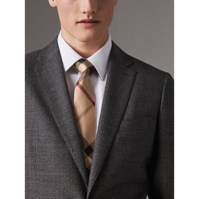 Burberry - Cravate moderne en soie à motif check - 3