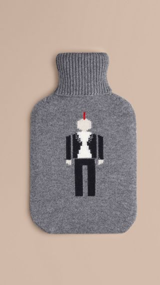 The Punk Graphic Cashmere Hot Water Bottle Cover