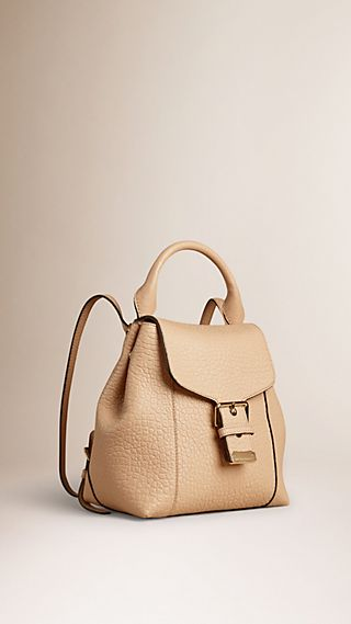 Signature Grain Leather Backpack