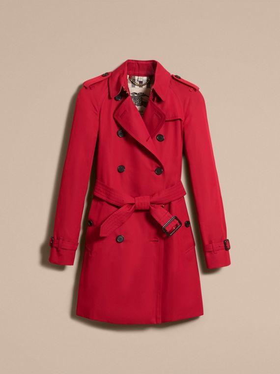 Parade red The Westminster – Mid-Length Heritage Trench Coat Parade Red - cell image 3