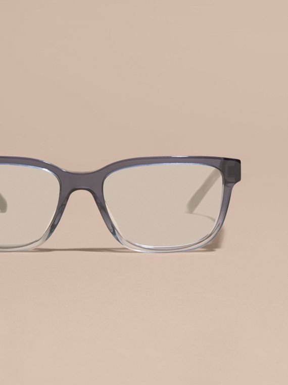 Check Detail Rectangular Optical Frames Blue - cell image 2