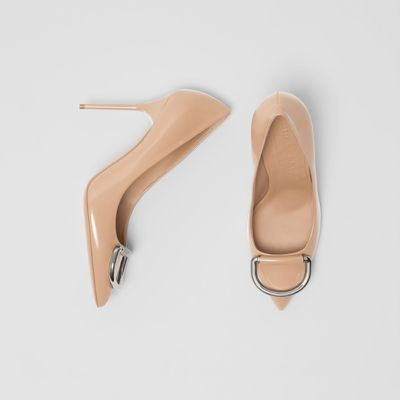 The Leather D Ring Stiletto by Burberry