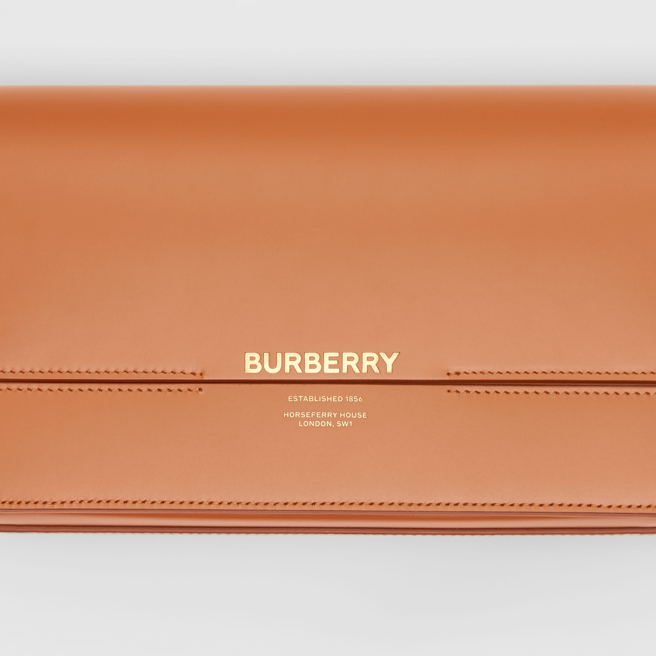 Mini Leather Grace Bag in Nutmeg - Women | Burberry - 2