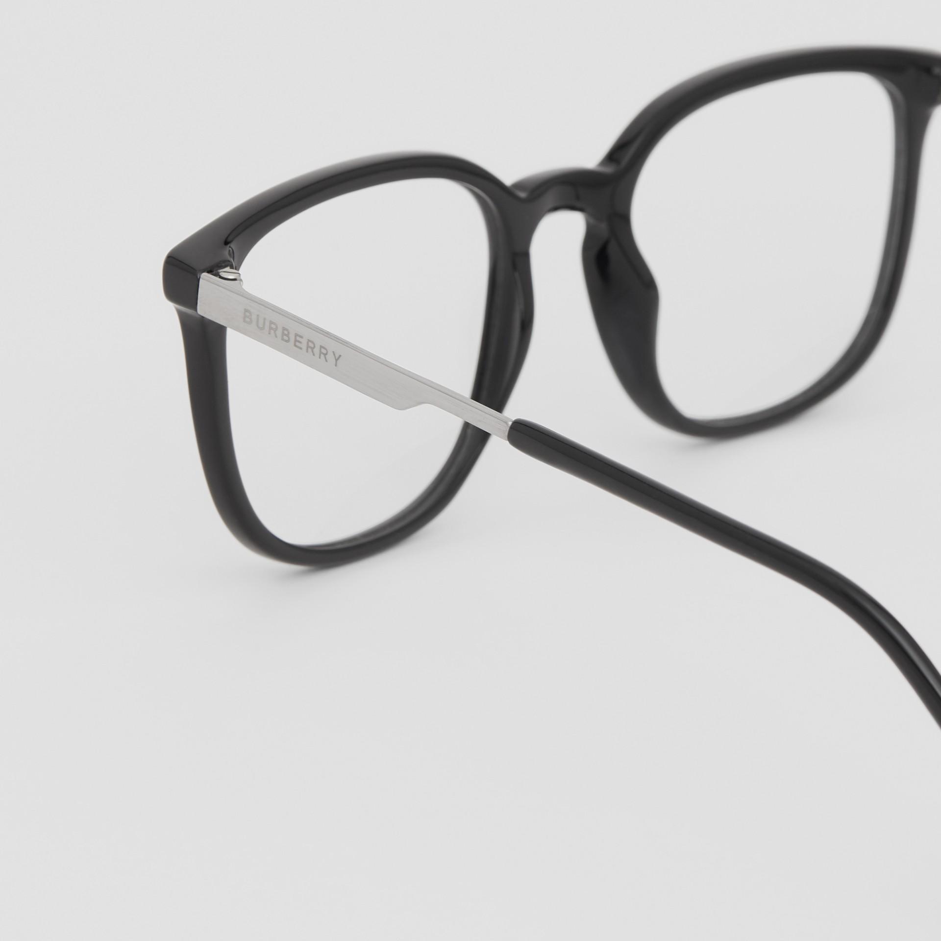 Gafas de ver con montura cuadrada (Negro)   Burberry - imagen de la galería 1