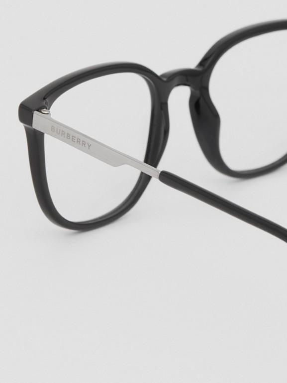 Gafas de ver con montura cuadrada (Negro)   Burberry - cell image 1