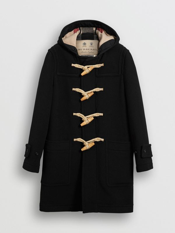 The Greenwich Duffle Coat in Black - Men | Burberry Australia - cell image 3