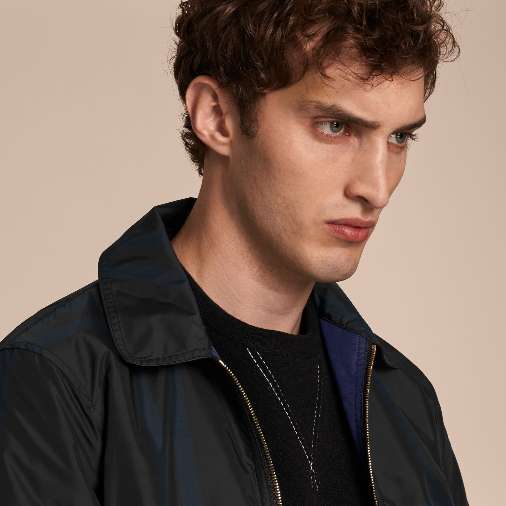 Reversible Technical Bomber Jacket - gallery image 5