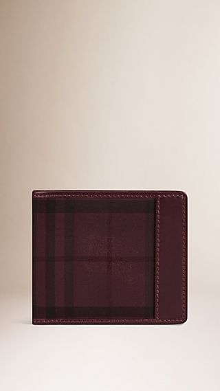 Overdyed Horseferry Check Folding Wallet