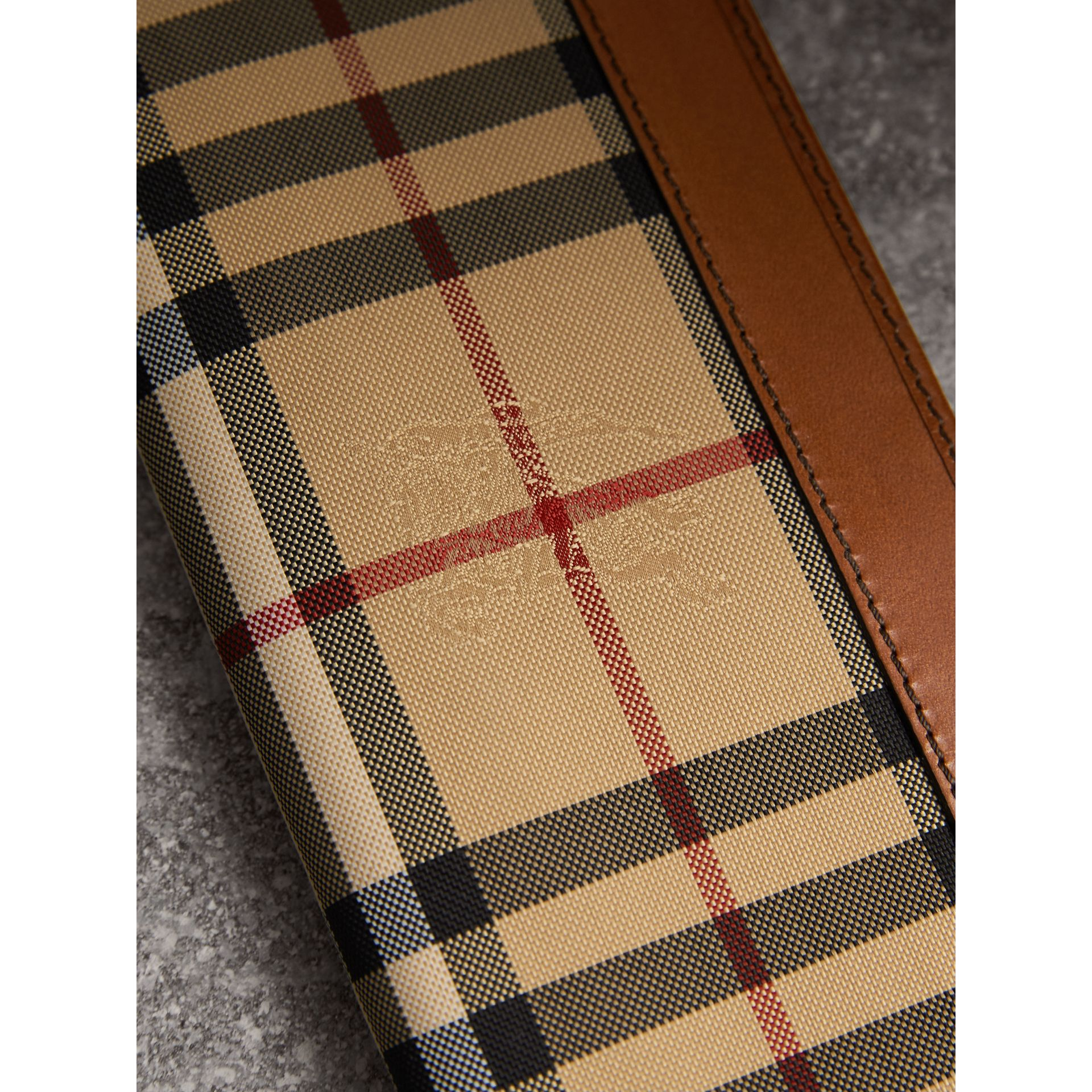Horseferry Check Continental Wallet in Tan - Men | Burberry - gallery image 1