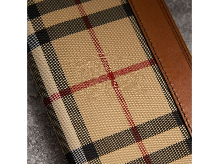 Horseferry Check Continental Wallet in Tan - Men | Burberry United States - cell image 1