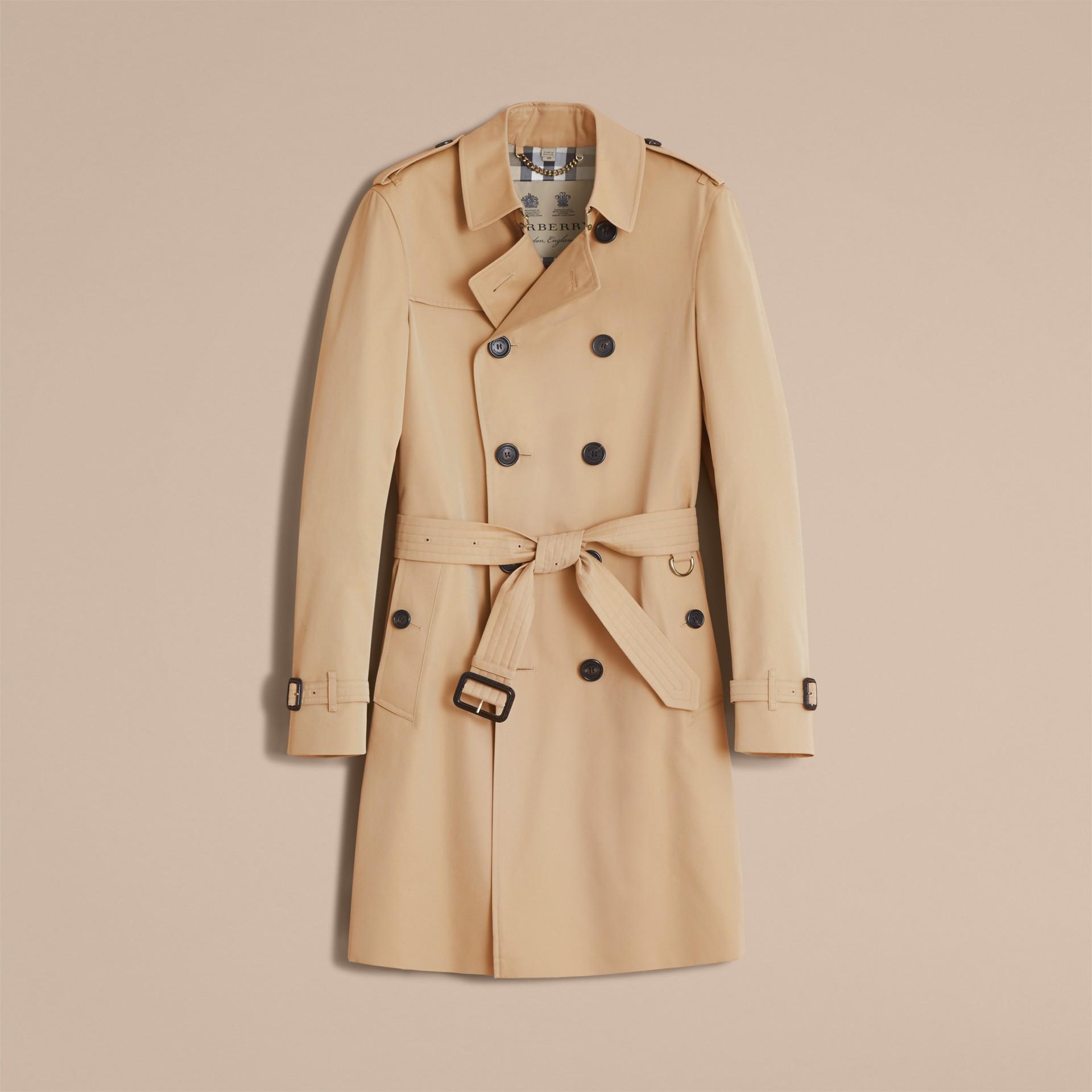 Miel Trench-coat Heritage long The Chelsea Miel - photo de la galerie 5