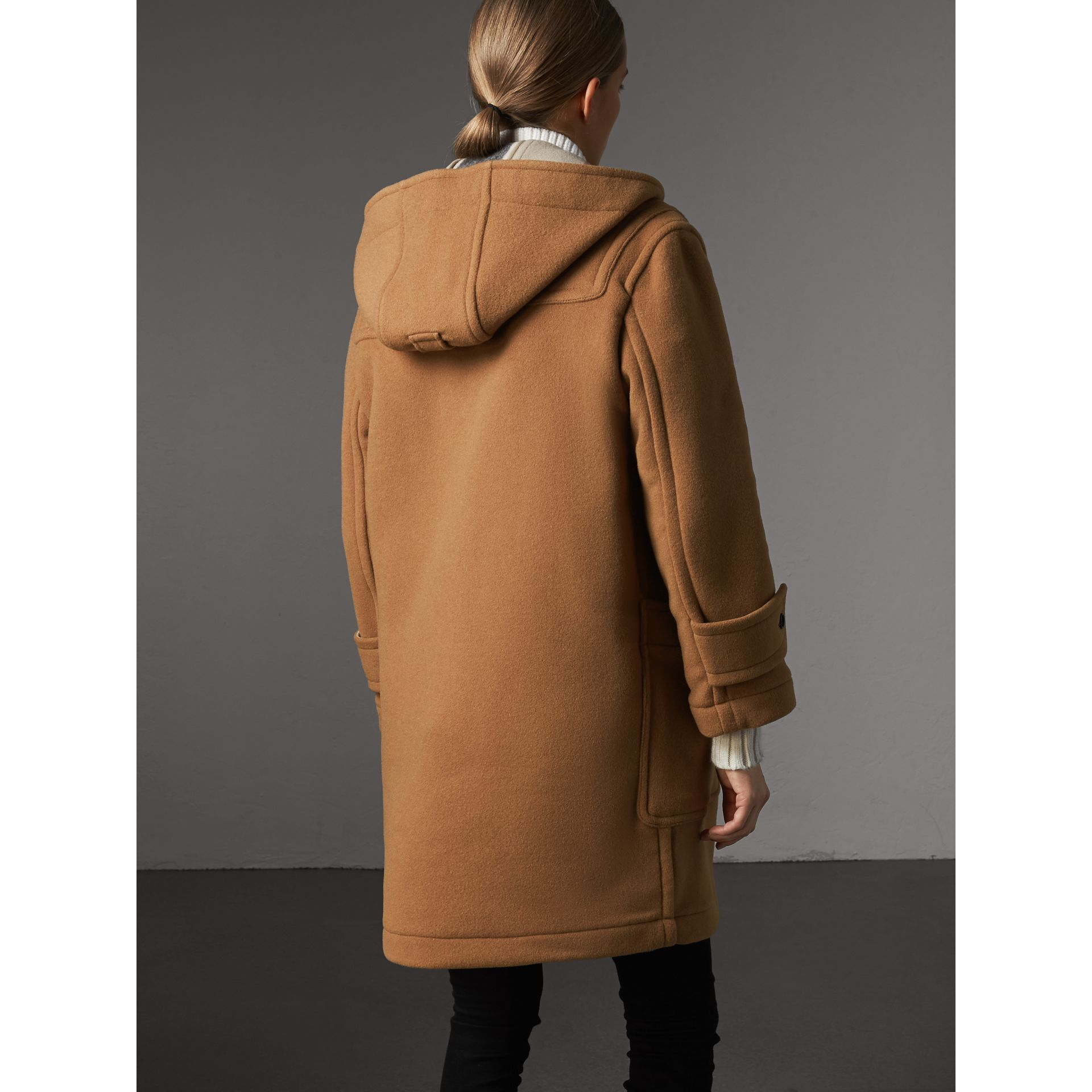 The Greenwich Duffle Coat in Mid Camel - Women | Burberry Hong Kong - gallery image 2