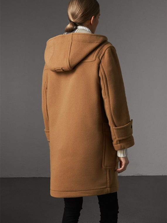 The Greenwich Duffle Coat in Mid Camel - Women | Burberry Hong Kong - cell image 2