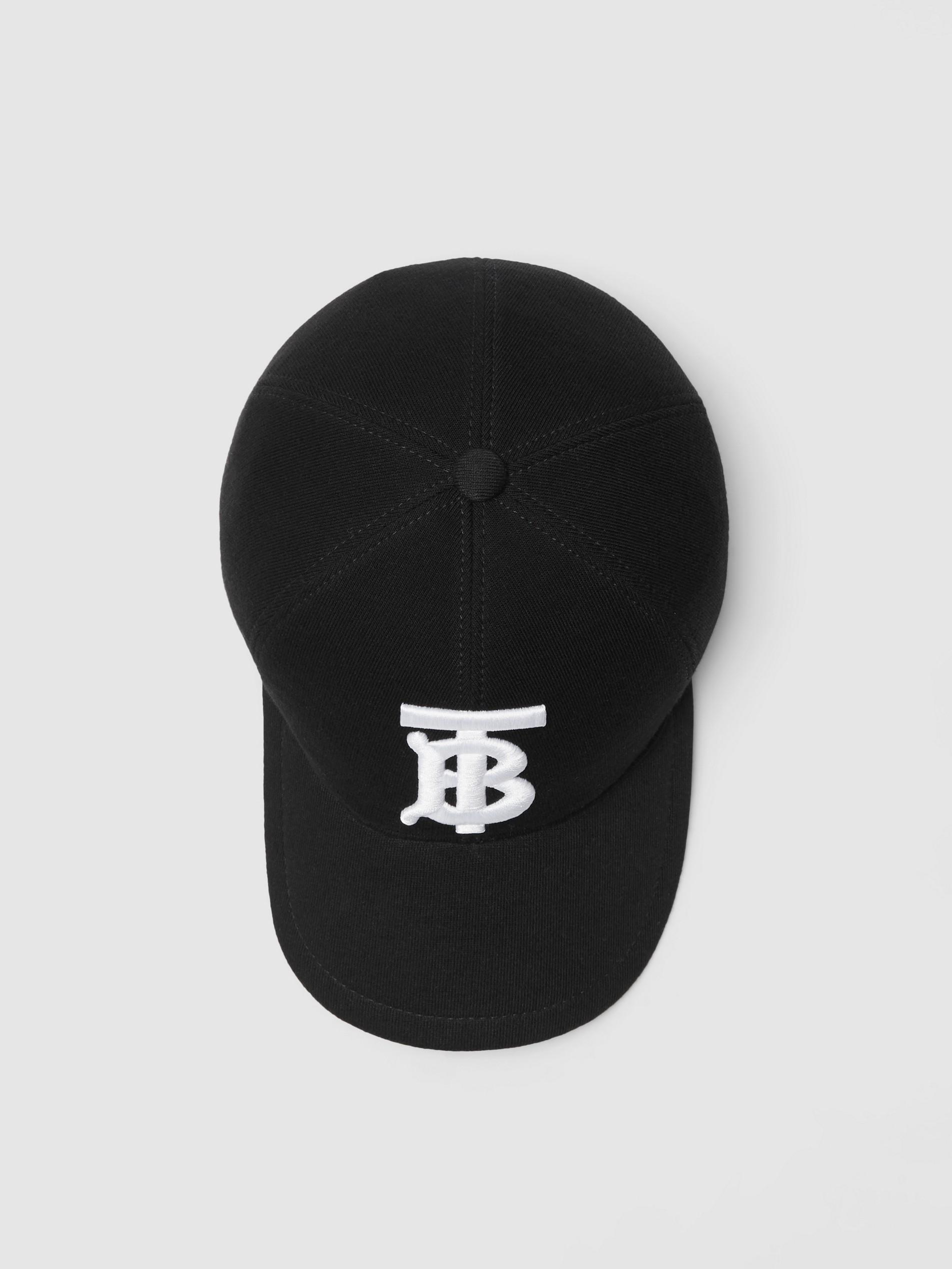Shop Burberry Monogram Motif Baseball Cap In Black d9de0e8fadf