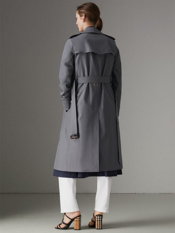 The Kensington – Trench Heritage long (Gris Moyen) - Femme | Burberry - cell image 2