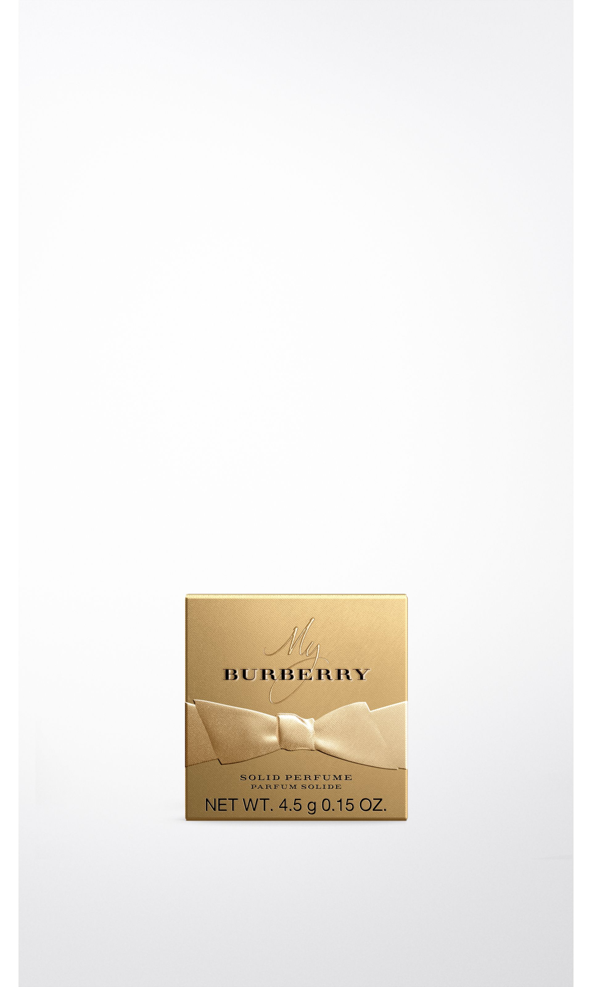 My Burberry Solid Perfume Limited Edition in Gold - Women | Burberry United States - gallery image 1