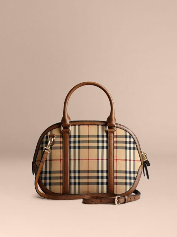 Petit sac The Orchard à motif Horseferry Check (Miel/hâle) - Femme | Burberry - cell image 3