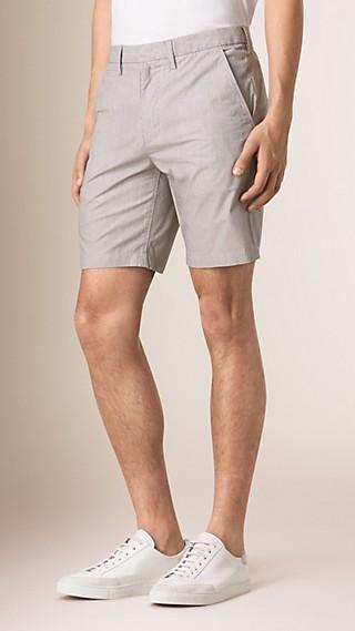 Körperbetonte Shorts aus Baumwolle