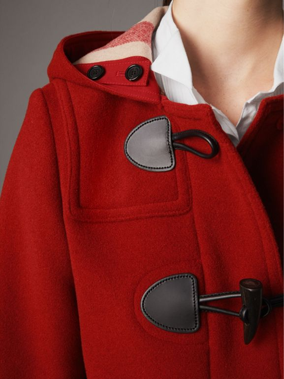 Duffle-coat The Mersey (Rouge Parade) - Femme | Burberry - cell image 1