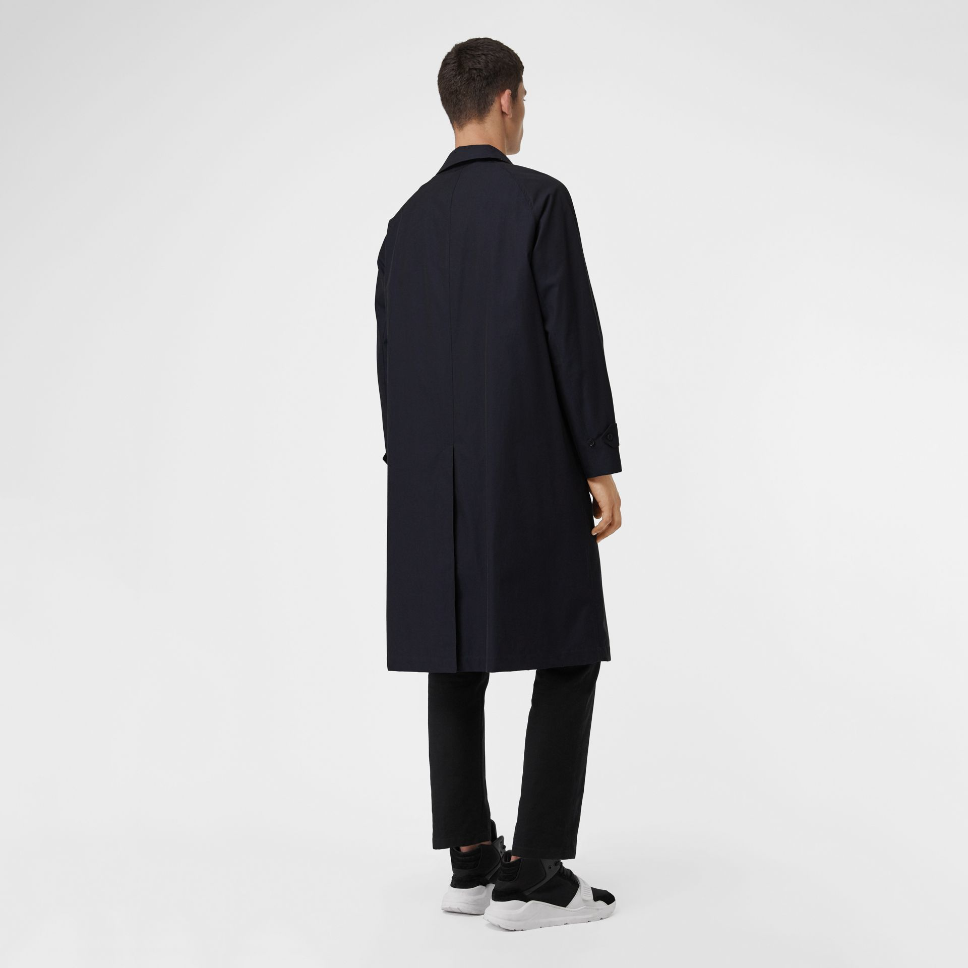 The Brighton Car Coat in Blue Carbon - Men | Burberry - gallery image 2